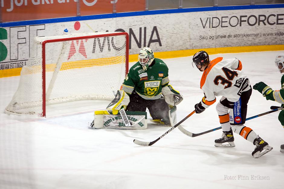 Eskil Wold scorer 0-1 målet