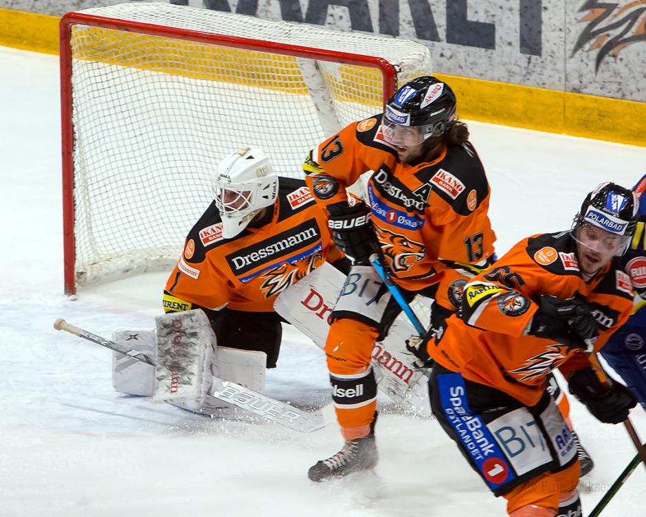 To sentrale spillere i kveld, Nicolay Andresen og Nicklas Dahlberg
